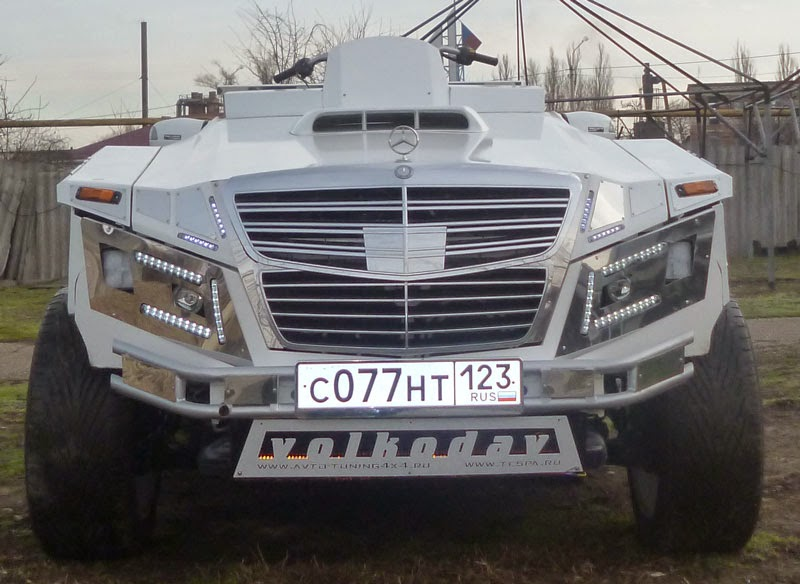 Volkodav на базе автомобиля Мерседес E класса
