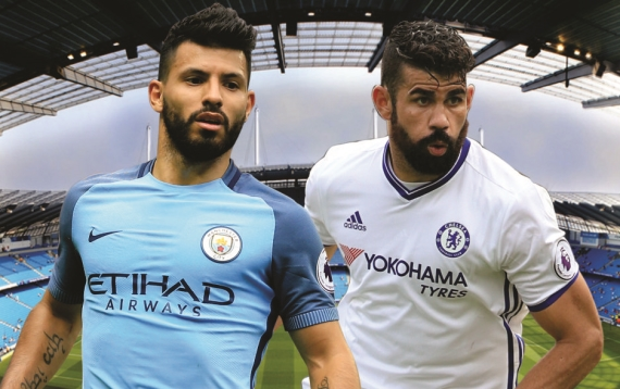 Title-contenders Manchester City and Chelsea lock horns in what promises to be a mouth-watering encounter.