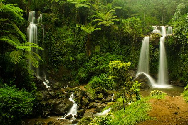 Tempat Wisata Air Terjun Terbaik di Magelang - Air Terjun Grenjengan Kembar, Magelang