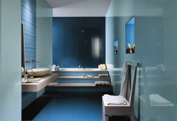 Blue Bathroom Design Ideas 9