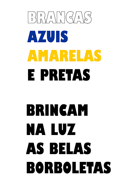 Painel As Borboletas Vinicius de Moraes