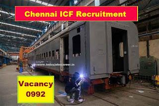 ICF-992 Fresher Apprentice Recruitment 2019 Chennai Jobs