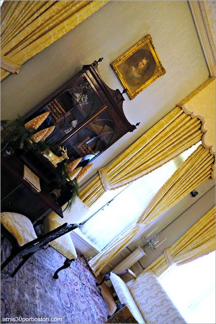 Habitación Conmemorativa Van Alen en la Mansión The Elms en Newport