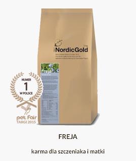 Karma UniQ Nordic Gold, Freja. Źródło: https://uniqnordicgold.pl/nasze-karmy/
