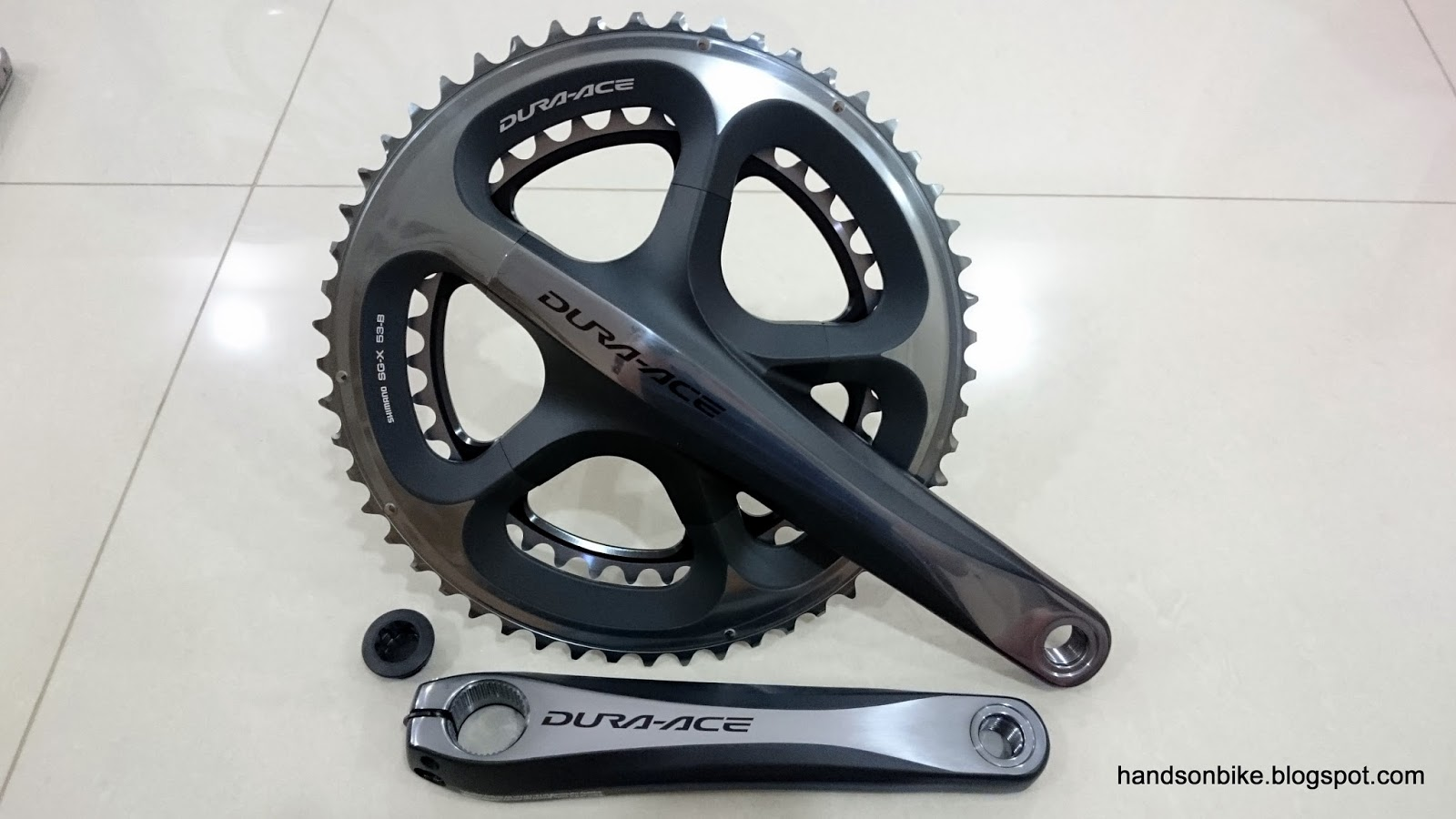 045176988d3 As for the Dura-Ace 9000 crankset, it is 50/34T, with 170mm crank arm  length. As such, the total weight comparison is not the most accurate as  the ...