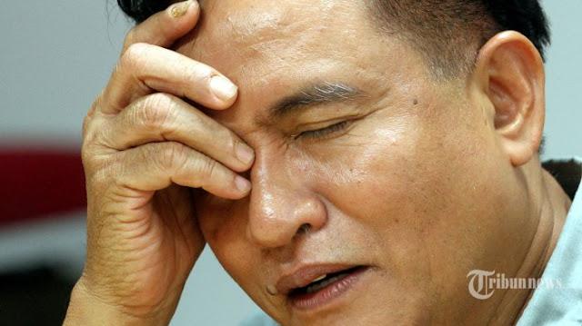 Tidak Ada Partai Yang Mau Mengusung di Pilgub DKI, Yusril: Saya Pasrah