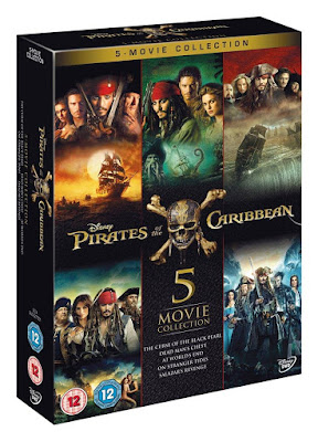 Pirates Of The Caribbean Pentalogy (2003-2017) HD Bluray 720P Dual Audio Hindi + English All Movie Collection Download Gdrive