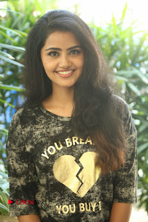 Actress Anupama Parameshwaran Pictures in Jeans at Premam Movie Interview  0041