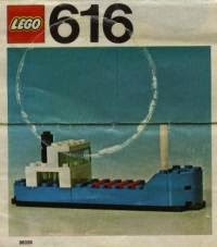 Set LEGO Cargo Ship 616