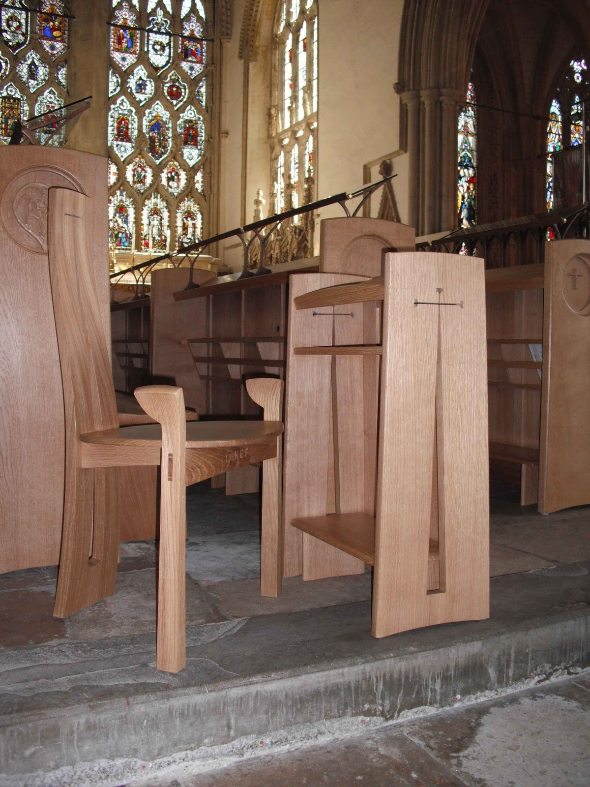 Pastor Pulpit Chairs Folding Resin Philip Koomen Furniture March 2013