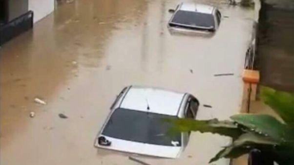 Banjir di Cibeber Cilegon
