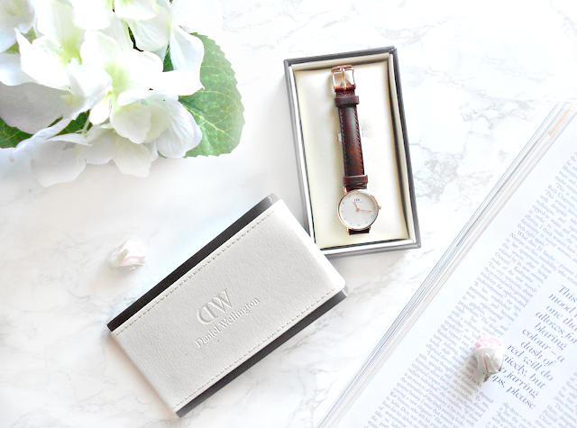 Rose Gold Watch by Daniel Wellington