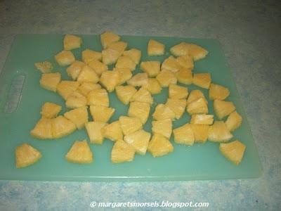 Margaret's Morsels | Fresh Pineapple