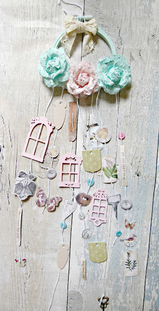 Cherish the Memory: How To Create A  Stunning Shabby Chic Wall hanging