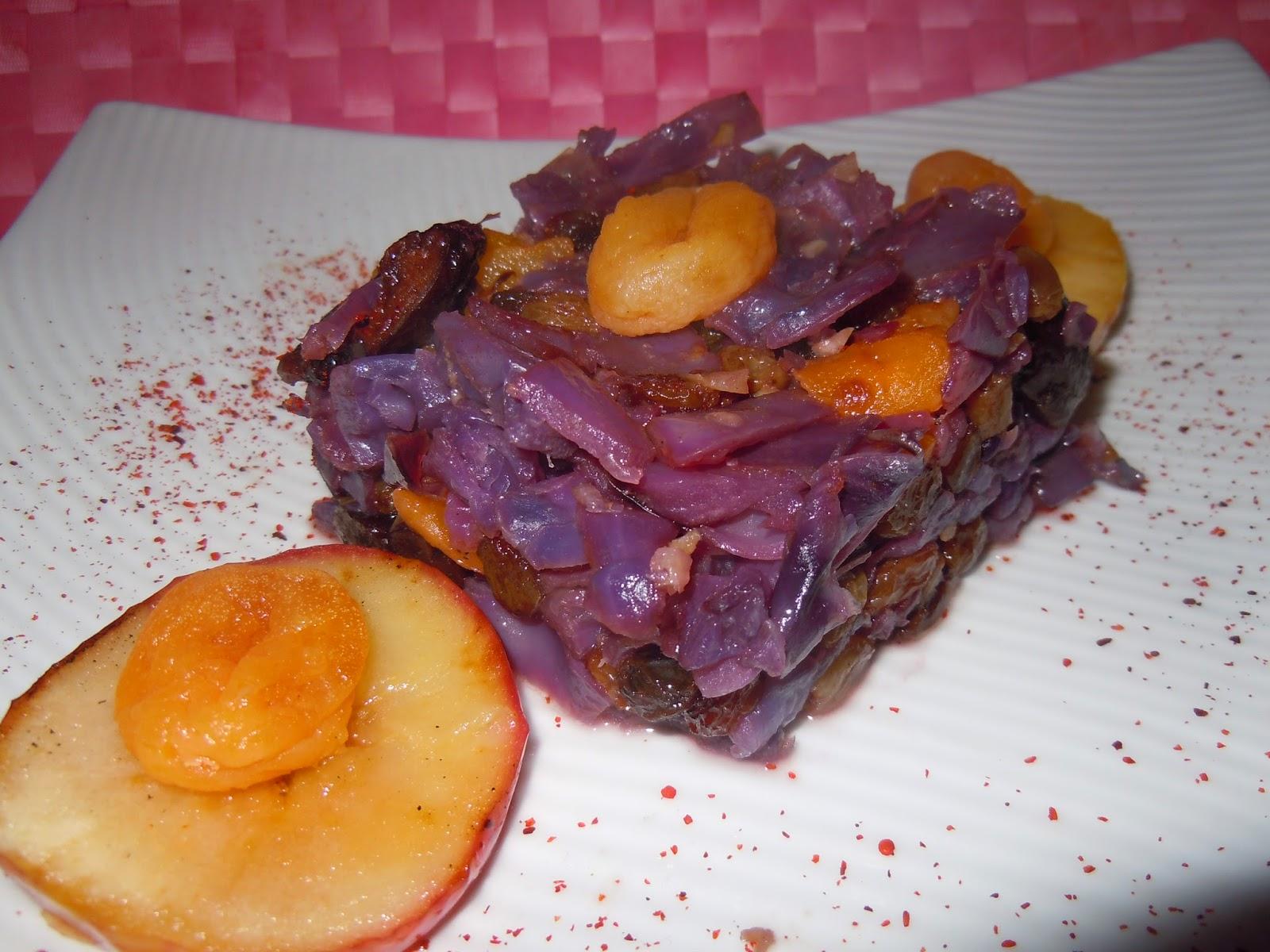 El blog de debora mis recetas del dia a dia lombarda con for Cocinar lombarda