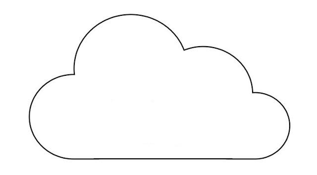 molde de nuvem como fazer