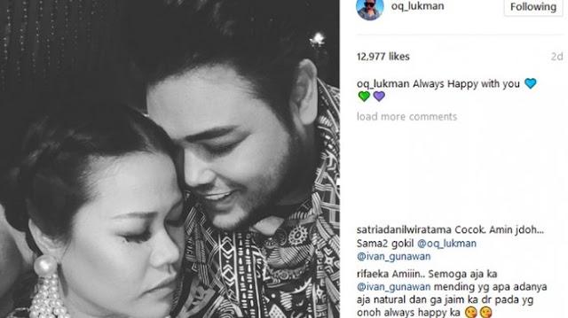 Okky Lukman Posting Foto Mesra, Ivan Gunawan: Kayaknya Kita Jodoh Deh