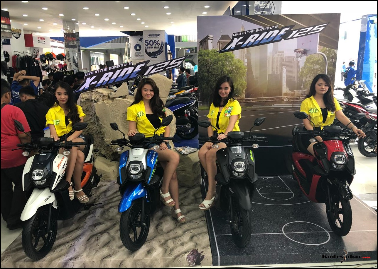 Yamaha Luncurkan All New X-Ride 125 Berkonsep Adventure Dengan Teknologi Blue Core Teranyar