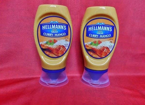 Hellmann's salsa Curry-Mango