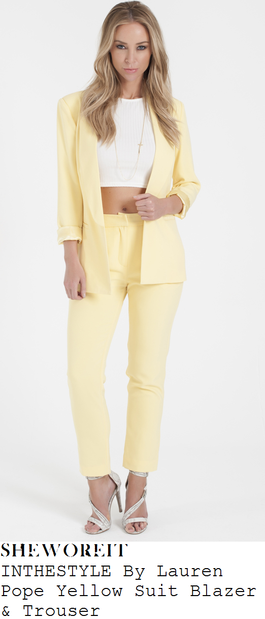 lauren-pope-yellow-suit-co-ords-in-the-style