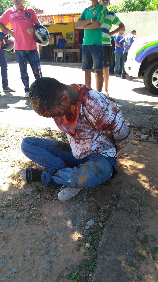 Mucambo-CE: Bandido tenta praticar assalto na Zona Rural, entra em luta corporal com a vitima e acaba se dando mal