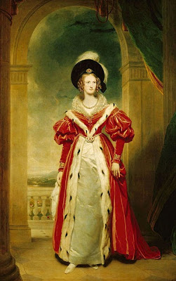 Portrait of Queen Adelaide by Sir Martin Archer Shee, 1836