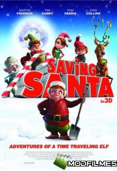 Capa do Filme Como Salvar O Papai Noel