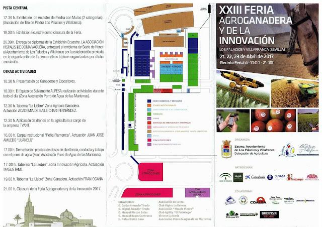 Feria Agroganadera de Los Palacios y Villafranca 2017 - Programa de actividades 02