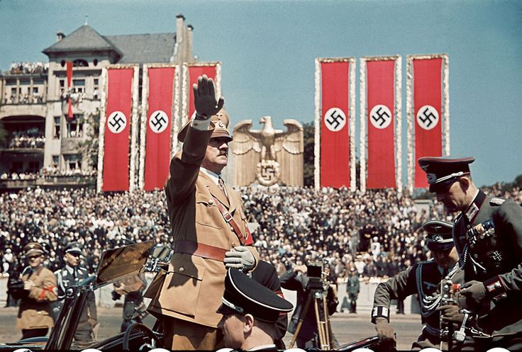 Hitler color photos World War II worldwartwo.filminspector.com
