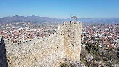 panorama dalla Samuel's Fortress