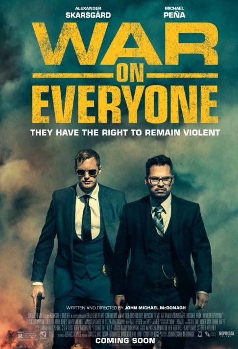 War on Everyone (2016) 720p BluRay x264 716 MB