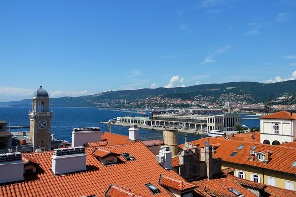 trieste point de vue toits musée revoltella