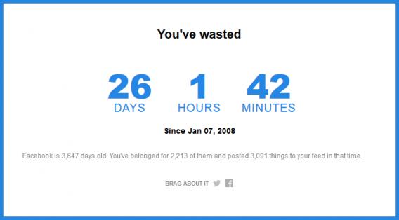 Come scoprire quanti giorni hai trascorso su Facebook