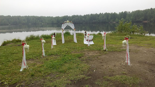 Оформление церемонии бракосочетания