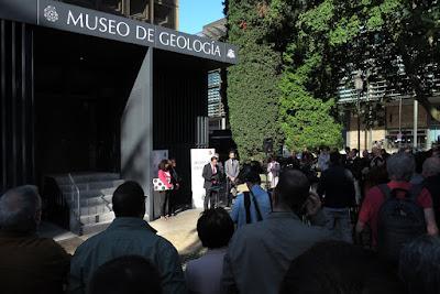 Inauguración del nuevo Museo de Geología de Oviedo