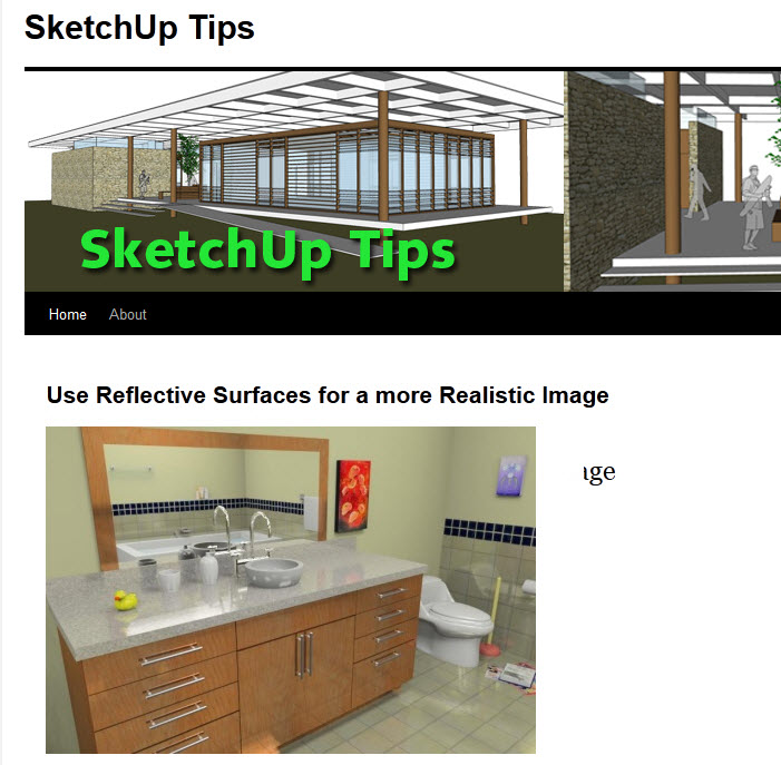 SketchUp Blogs
