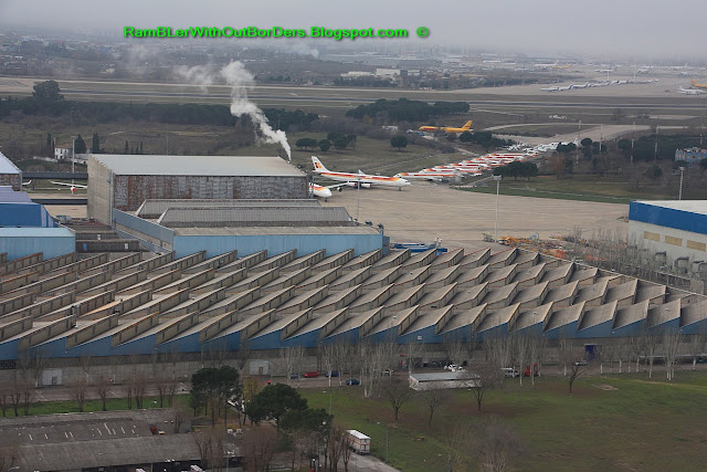 Airport, Madrid, Spain