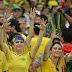Brasil foi eliminado apenas uma vez nas oitavas de final da Copa do Mundo