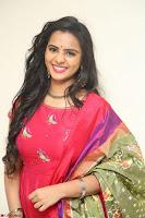 Manasa in Pink Salwar At Fashion Designer Son of Ladies Tailor Press Meet Pics ~  Exclusive 68.JPG