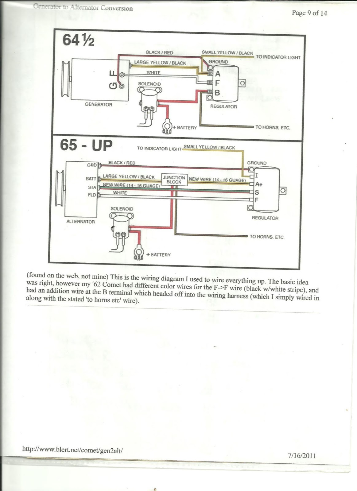 ford overdrive wiring diagram ford charging systems alternator and generator  [ 1163 x 1600 Pixel ]