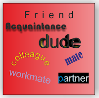 Diferencia entre friend, acquaintance, colleague, mate, buddy, partner