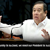 Senator Gordon calls Filipinos to support Duterte: 'If we want our country to succeed, we need our president to succeed'