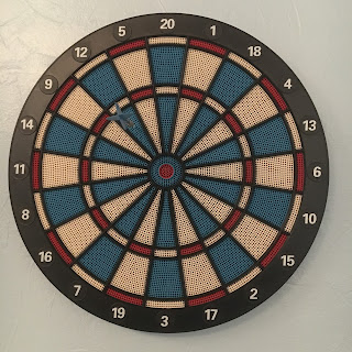 Decathlon Challenge Dart Board