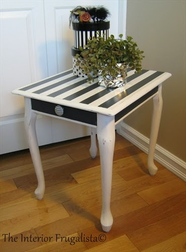 Queen Anne End Table {Tenth Most Viewed Post}