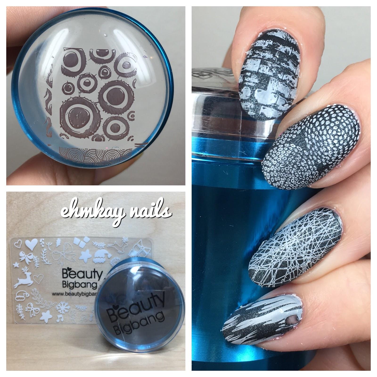 ehmkay nails: Beauty Big Bang Metal Nail Art Stamper and Scraper