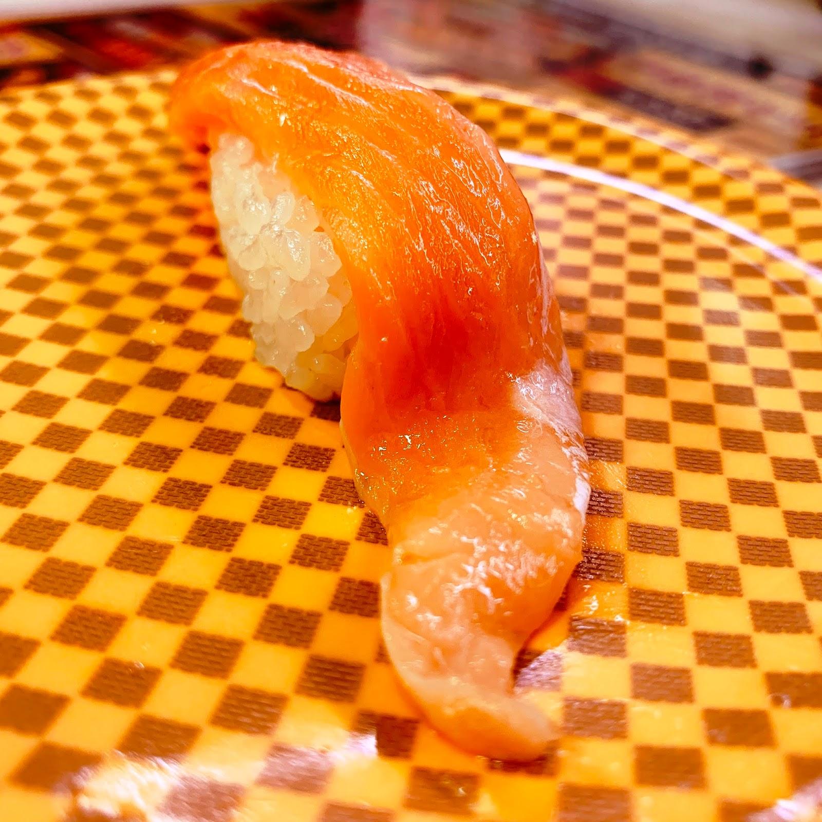 鮭魚肚握壽司