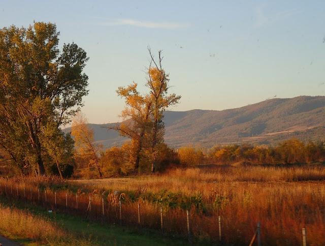 Widoki na południu Serbii