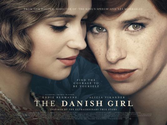 Danish Girl movie poster