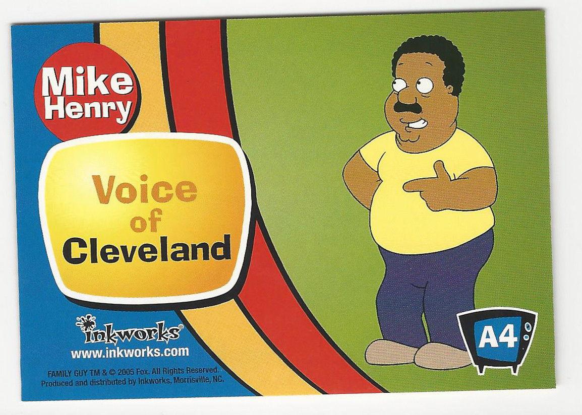 cleveland brown voice actor