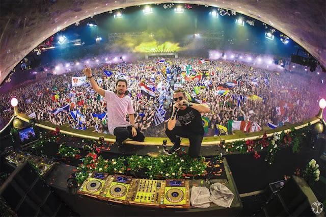 Dimitri Vegas y Like Mike de postureo en Tomorrowland